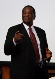 Emil Jones Jr., Renèe 's Father, former Illinois Senate President.