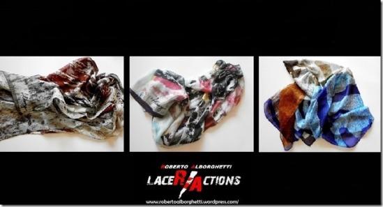 Roberto Alborghetti - Lacer/actions, Silk Scarves