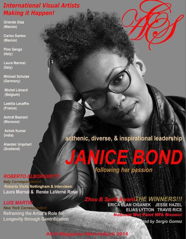ACS magazine, March/April 2016, Cover