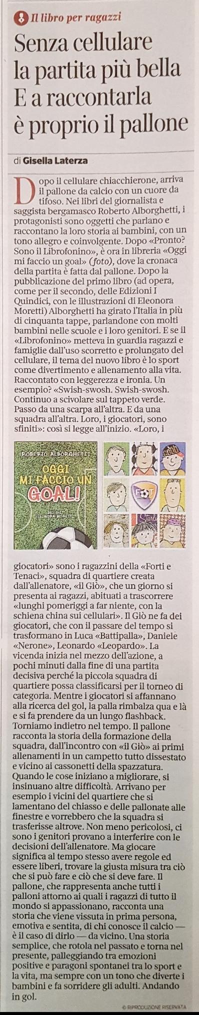Corriere della Sera 5 12 17