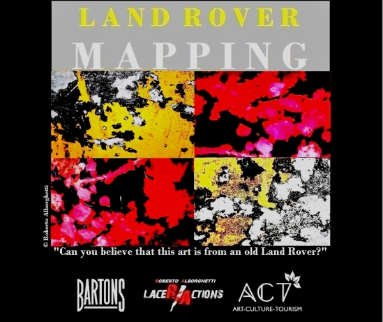 "LAND ROVER MAPPING - MESSAGE # 2: ""SOMEWHERE THERE IS A MAP..."""