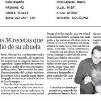 ALSO IN SPAIN IMPRESSIVE MEDIA COVERAGE ABOUT MY NEW BOOK