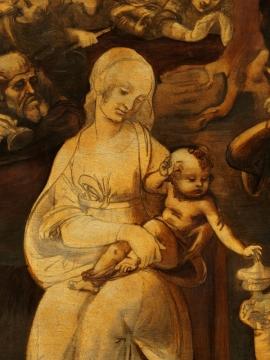 1 Adorazione Magi Leonardo 6 (600x800)