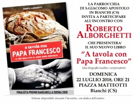 Bianchi - A TAVOLA CON PAPA FRANCESCO Locandina (2) - Copia - Copia