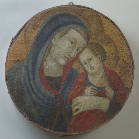 Gubbio 13 Mello, Madonna col Bambino, Gubbio, Museo Comunale