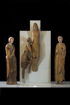 Gubbio 3. Scultore romanico, Deposizione di Croce, Montone, Museo Comunale