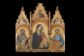 Gubbio 6. Pietro Lorenzetti, Trittico, Gubbio, Palazzo Ducale