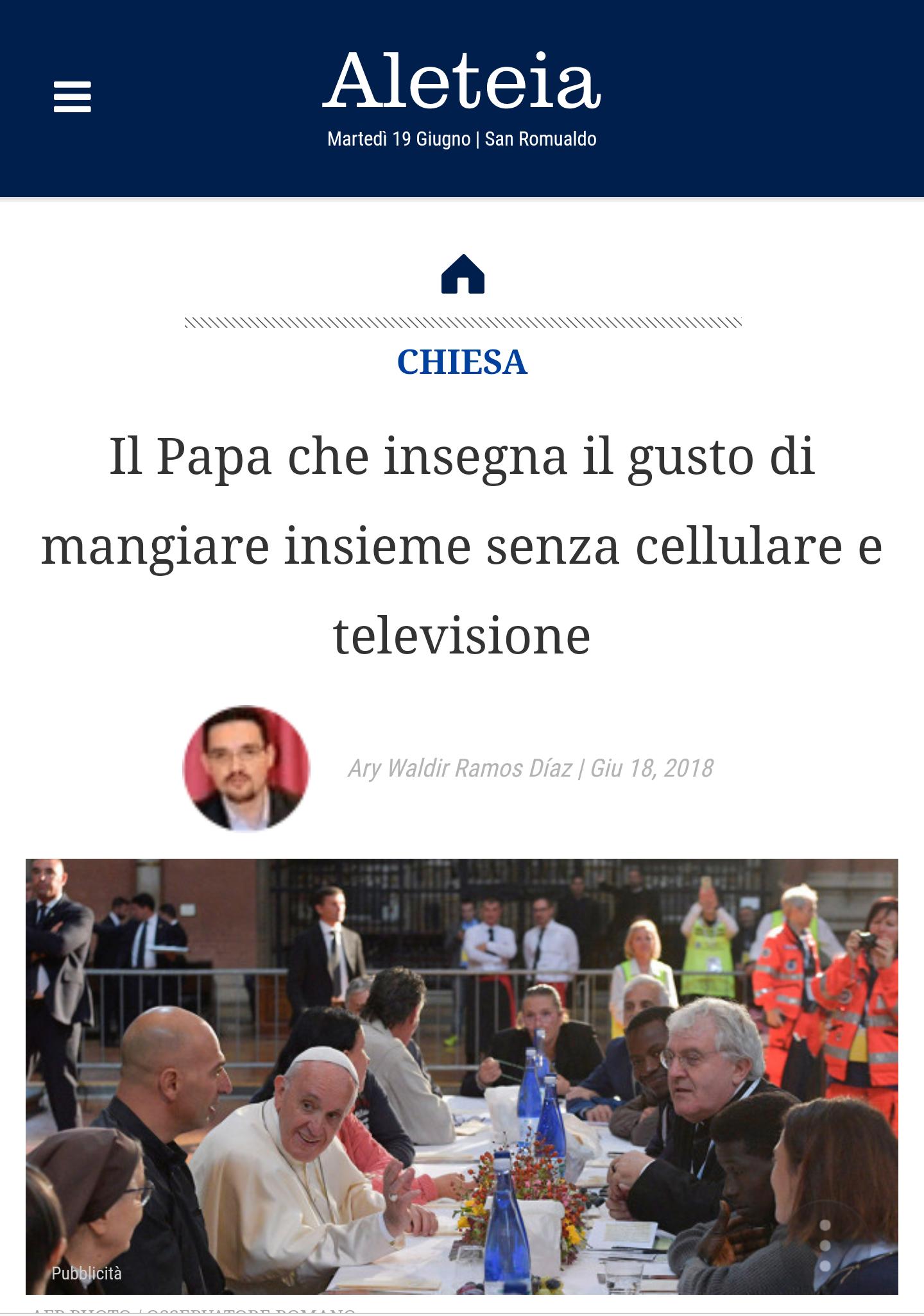 Aleteia Italia Giu 2018
