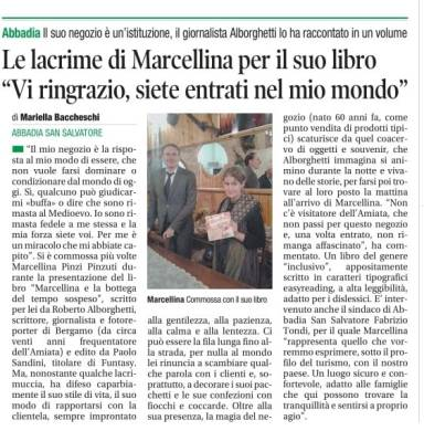 Corriere di Siena 1 11 2018