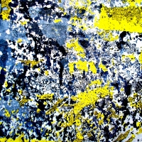 CORROSIONS ON THE SURFACE OF AN IRON GATE: WITH A TOUCH OF YELLOW #1