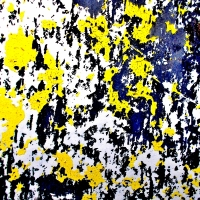 CORROSIONS ON THE SURFACE OF AN IRON GATE: WITH A TOUCH OF YELLOW #2