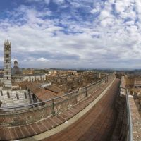 "A BREATHTAKING PANORAMA FROM ""FACCIATONE"", THE MOST AWE-INSPIRING VIEWPOINT IN SIENA"