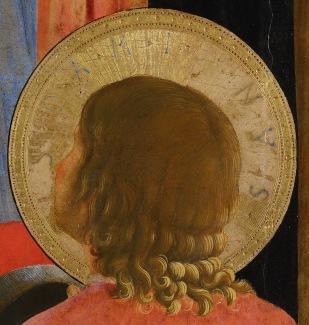 Beato Angelico, Pala di San Marco, particolare di San Damiano