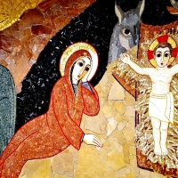 "STONES AND LIGHT: THE AMAZING ""CHRISTMAS MOSAIC"" BY RUPNIK (LENNO, LAKE COMO)"