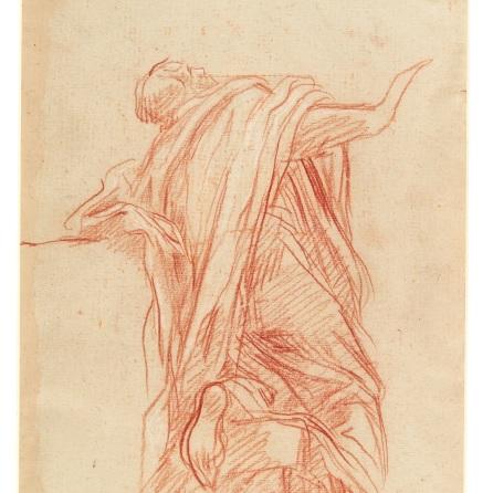 Studio di Apostolo in ginocchio (2), Baldassarre Franceschini