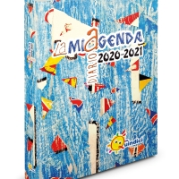 GAMES IN THE SKY (GIOCHI NEL CIELO): COLLAGE FOR THE COVER OF LAMIAGENDA 2020/2021
