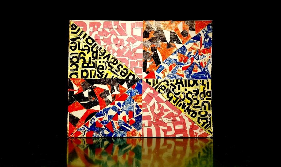 VORTICISM: LOCKDOWN #3, BY ROBERTO ALBORGHETTI