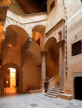 Museo di Palazzo Davanzati_Il cortile interno
