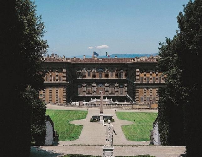 Palazzo Pitti visto da Boboli