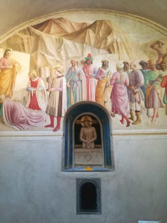 Museo di San Marco - Cella di Cosimo de' Medici. Beato Angelico, Benozzo Gozzoli e collaboratori con installazione Wolfgang Laib