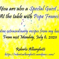 YOU ARE A SPECIAL GUEST ... AT THE TABLE WITH POPE FRANCIS