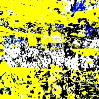THE YELLOW YEAR / CORROSIONS ON THE SURFACE OF AN IRON GATE