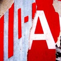 BROKEN WORDS #10 / TORN PUBLICITY POSTERS ON OUTDOOR BILLBOARDS