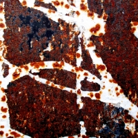 THE MAGIC OF RUST ON THE ADVERTISING BOARDS AT THE GATES OF ROME #1
