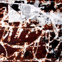 THE MAGIC OF RUST ON THE ADVERTISING BOARDS AT THE GATES OF ROME #3
