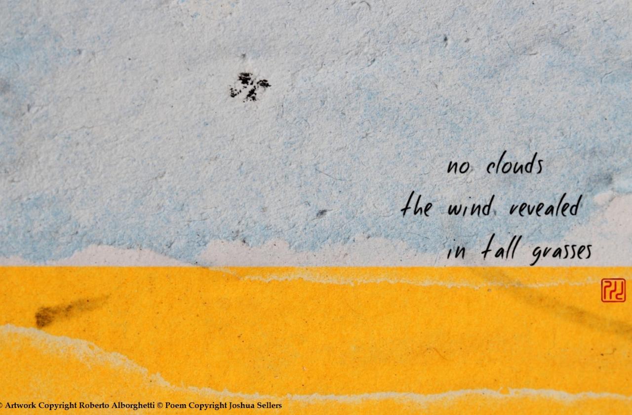 """NO CLOUDS"" / MACRO PHOTOGRAPHY AND WORDS (MODERN HAIKU #4)"